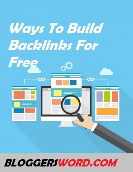 Ways To Build Backlinks For Free